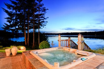 in-ground hot tub