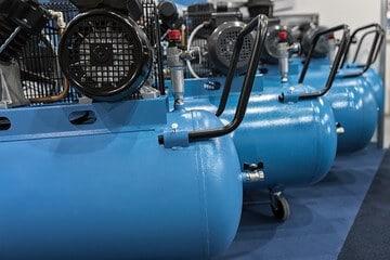 rented air compressors