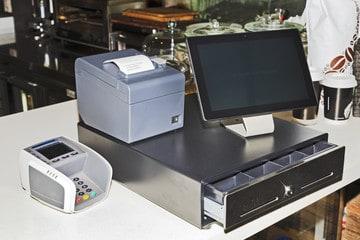 rented cash register